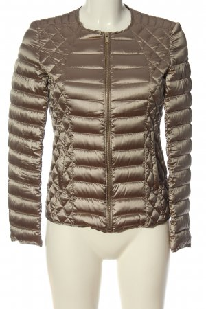 Bomboogie Between-Seasons Jacket gold-colored quilting pattern casual look