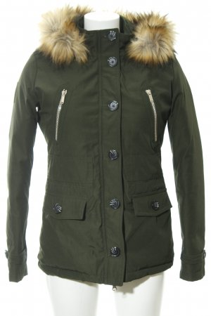 Bomboogie Winter Jacket khaki casual look