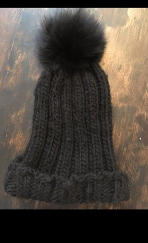 CB by Coral Blue Knitted Hat black-anthracite