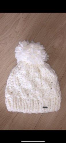 Hollister Chapeau en tricot blanc