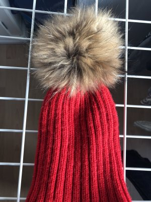 Fur Hat red
