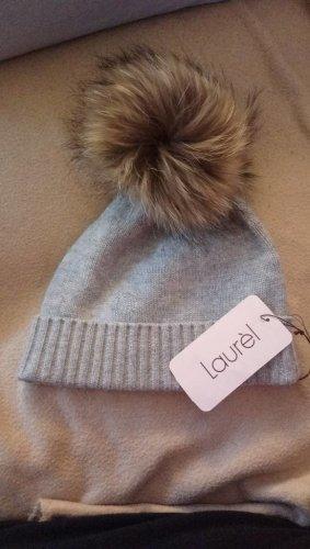 Laurèl Fur Hat grey