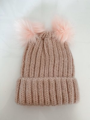 Oasis Fur Hat rose-gold-coloured-pink
