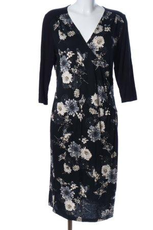 Bon'a Parte A-Linien Kleid Blumenmuster Casual-Look