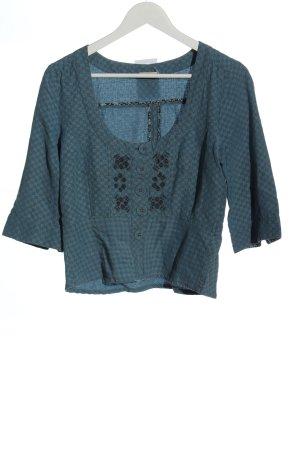 Bon'a Parte Marynarka koszulowa niebieski Na całej powierzchni W stylu casual