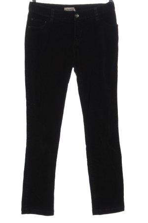 Bon'a Parte Spodnie sztruksowe czarny W stylu casual