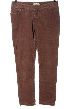 Bon'a Parte Spodnie sztruksowe brązowy W stylu casual