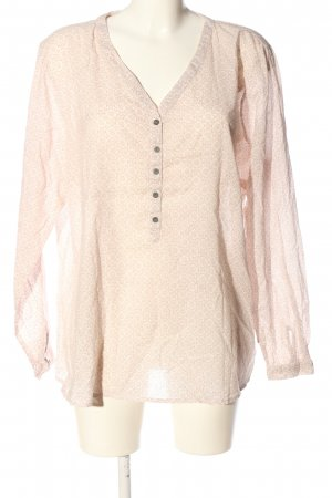 Bon'a Parte Shirt Blouse pink-brown allover print casual look
