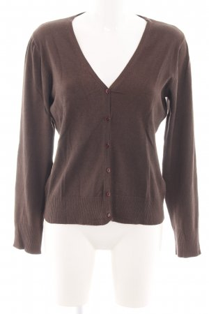 Bon'a Parte Long Sleeve Blouse brown casual look