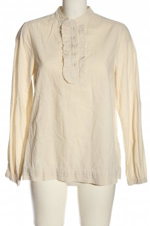 Bon'a Parte Long Sleeve Blouse cream casual look