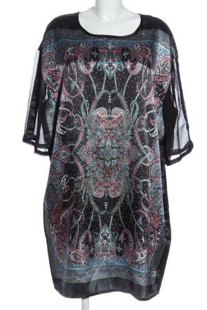 Bon'a Parte Sukienka z długim rękawem Abstrakcyjny wzór W stylu casual