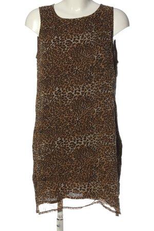 Bon'a Parte Long Top leopard pattern casual look