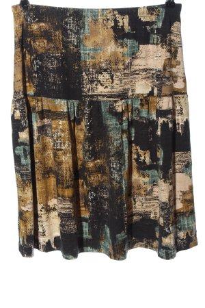 Bon'a Parte Spódnica z wysokim stanem Abstrakcyjny wzór W stylu casual