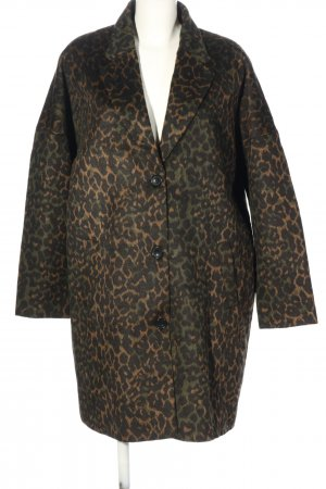 Bon'a Parte Between-Seasons-Coat leopard pattern casual look