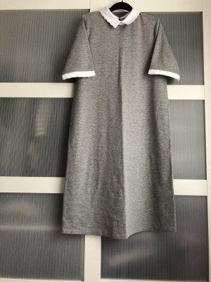 Maite Kelly x bonprix Robe Polo gris-blanc