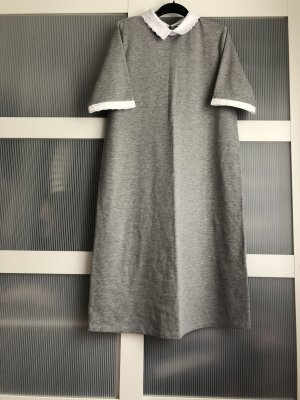 Maite Kelly x bonprix Polo Dress grey-white