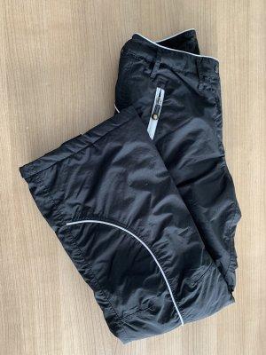 Bon Prix Pantalon de sport noir-blanc
