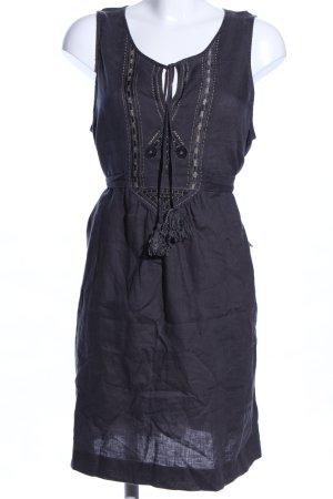 Bonaparte Blusenkleid schwarz Casual-Look