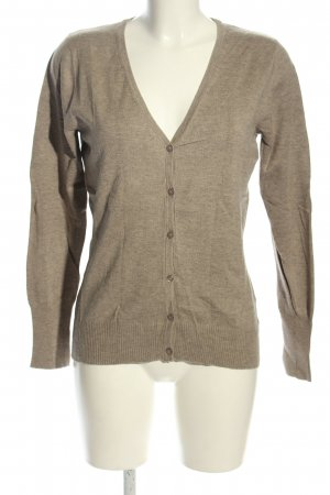 Bonaparte Cardigan marrone puntinato stile casual