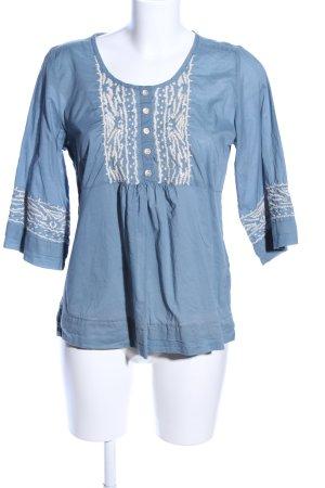 Bonaparte Kimono-Bluse blau Casual-Look