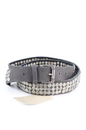 Bonaparte Cinturón de pinchos negro-color plata look casual