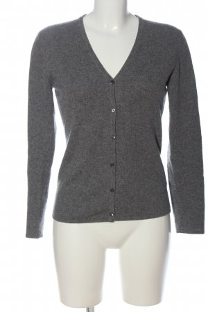 Bongenie Grieder Knitted Cardigan light grey casual look
