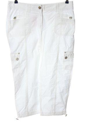 Bonita 3/4 Length Trousers white casual look