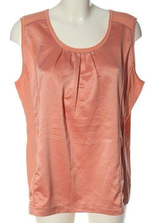 Bonita Blusa senza maniche arancione chiaro stile casual