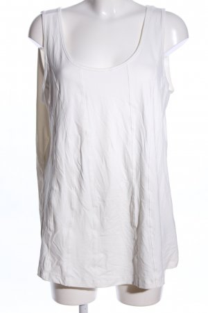 Bonita Basic Top weiß Casual-Look