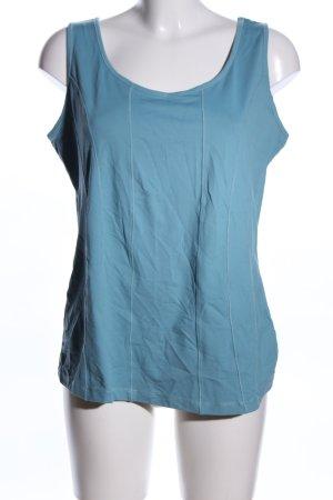 Bonita Basic Top blau Casual-Look