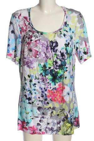 Bonita Batik shirt volledige print casual uitstraling