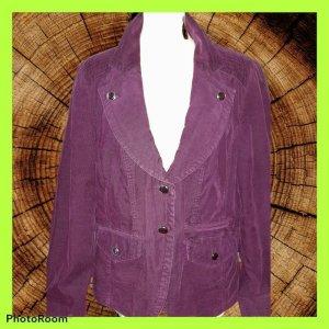 Bonita Blazer boyfriend violet-violet tissu mixte