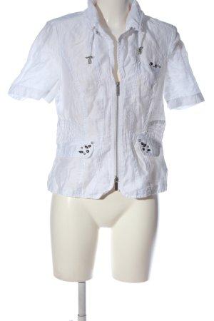 Bonita Veste chemisier blanc style décontracté