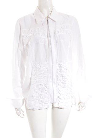 Bonita Blusenjacke weiß-silberfarben Elegant