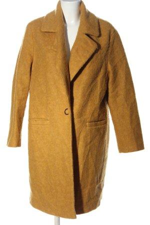 Bonita Długi płaszcz jasny pomarańczowy W stylu casual