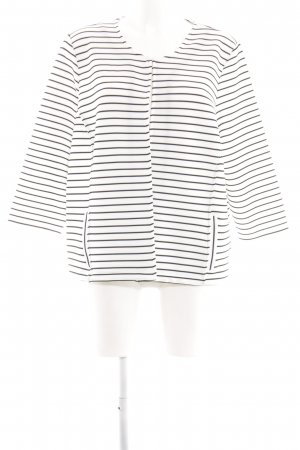 Bonita Cardigan weiß-schwarz Streifenmuster Casual-Look