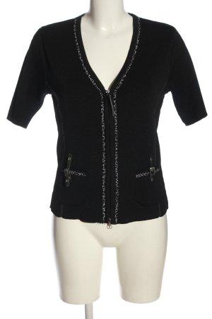 Bonita Cardigan schwarz-weiß Elegant