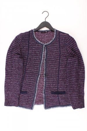 Bonita Cardigan lilac-mauve-purple-dark violet cotton