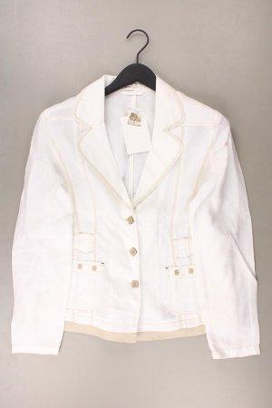 Bonita Cardigan natural white linen