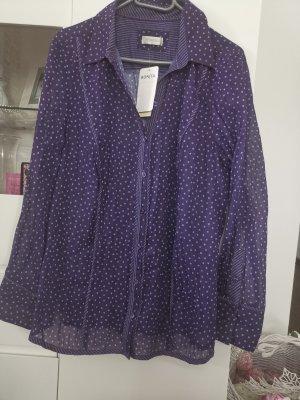 Bonita Blouse en crash gris violet