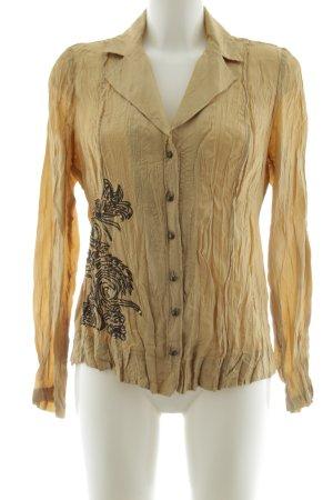 Bonita Crash-Bluse blassgelb Casual-Look