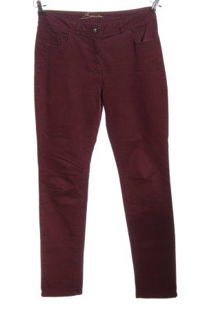Bonita Five-Pocket-Hose lila Casual-Look