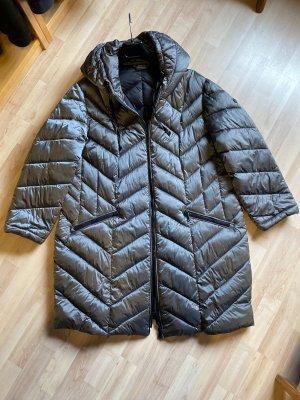 Bonita Quilted Coat bronze-colored-grey