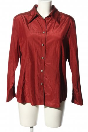 Bonita Blusa brillante rojo look casual