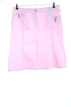 Bonita Jupe évasée rose style décontracté
