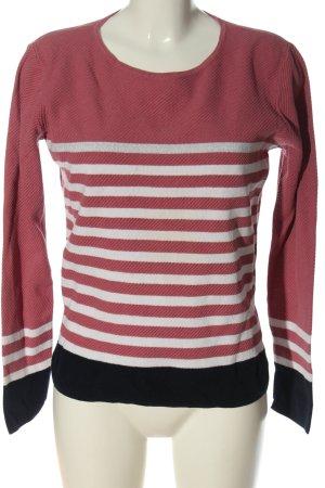 Bonita Pull en crochet motif rayé style décontracté
