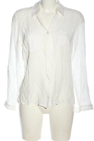 Bonita Koszulowa bluzka biały W stylu casual