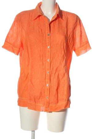 Bonita Camicia blusa arancione chiaro stile professionale