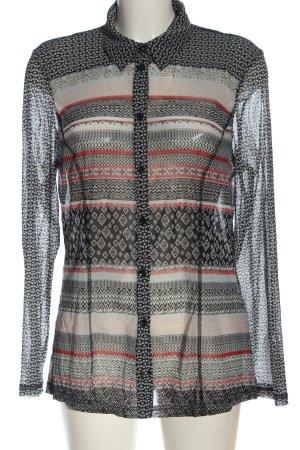 Bonita Camicia blusa motivo grafico elegante