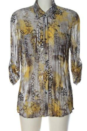 Bonita Hemd-Bluse abstraktes Muster extravaganter Stil
